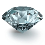 Diamond with Clipping Path